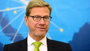 Guido Westerwelle bei Politikveranstaltung