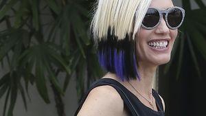 Gwen Stefani mit ihrem neuen Hairstyling