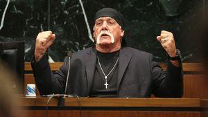 Hulk Hogan ballt die Fäuste