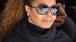 Janet Jackson mit großer Sonnenbrille