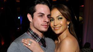 Jennifer Lopez schmiegt sich an Casper Smart