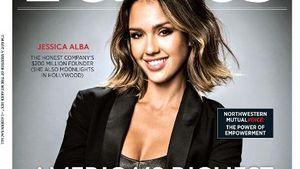 Jessica Alba ist auf dem Cover vom Forbes-Magazin