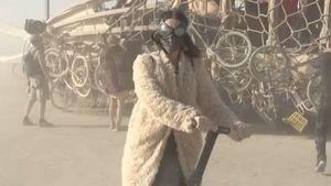 Katy Perry auf dem Burning Man Festival