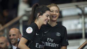Kendall Jenner und Gigi Hadid bei PSG