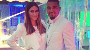 Kevin Prince Boateng mit Freundin Melissa
