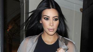 Kim Kardashian mit Nippelblitzer