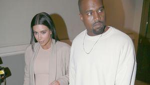 Kim Kardashian und Kanye West laufen