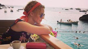 Kylie Minogue genießt den Ausblick