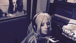 Lady GaGa im Studio