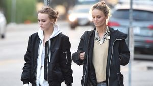 Lily-Rose Depp und Vanessa Paradis beim Shoppen