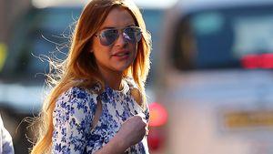Lindsay Lohan mit Sonnenbrille