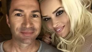 Lucas Cordalis und Daniela Katzenberger Selfie