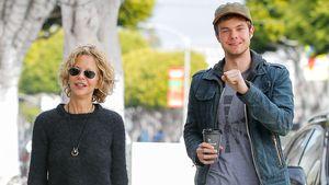 Meg Ryan unterwegs mit ihrem Sohn Jack