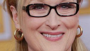 Meryl Streep mit schwarzer Brille