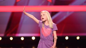Mini-Helene Fischer bei Das Supertalent