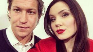 Nathalie Volk und Vito Schnabel auf einem Instagram-Bild