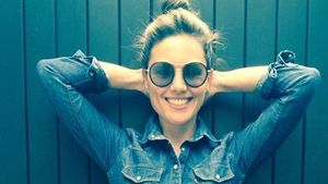 Nazan Eckes im Jeans-Look