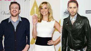 Reese Witherspoon Jared Leto und Jason Segel in einer Collage