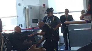 Ric Flair bricht am Flughafen zusammen