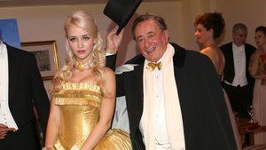 Richard Lugner und Cathy beim Wiener Opernball