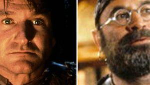 """Robin Williams und Bob Hoskins in ihren """"Hook""""-Rollen"""