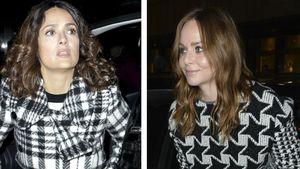 Salma Hayek und Stella McCartney als Style-Twins