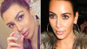 Sonia Ali und Kim Kardashin sind Zwillinge