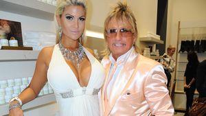 Sophia und Bert Wollersheim bei Shoperöffnung