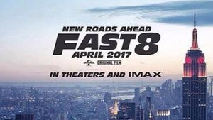 """Teaserplakat von """"Fast & Furious 8"""""""