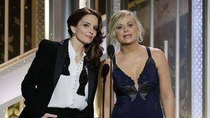 Tina Fey & Amy Poehler auf der Globes-Bühne