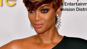Tyra Banks schaut grimmig