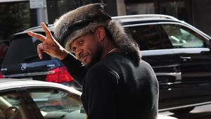 "Usher zeigt ""Peace"""