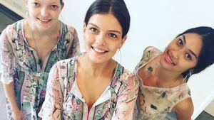 Vanessa Fuchs mit Anuthida und Ajsa