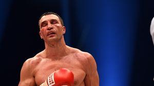 Wladimir Klitschko blutet