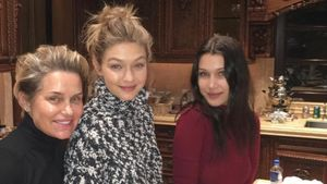 Yolanda Foster, Gigi Hadid und Bella Hadid