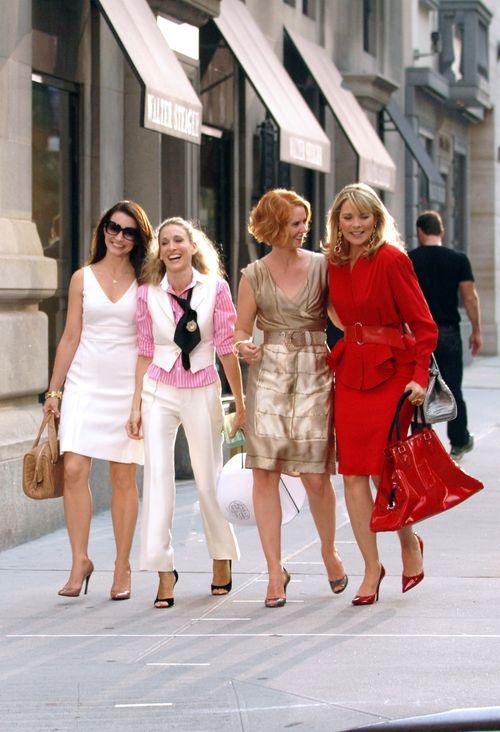 So kennt man die Vier: Carrie, Miranda, Charlotte und Samantha