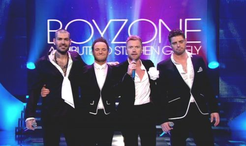 Boyzone feiern 2013 ihr 20-jähriges Bandbestehen