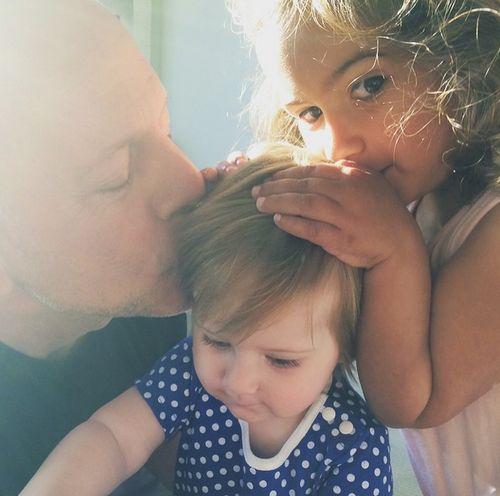 Bruce Willis erlebt mit Mabel und Evelyn noch mal totales Vaterglück