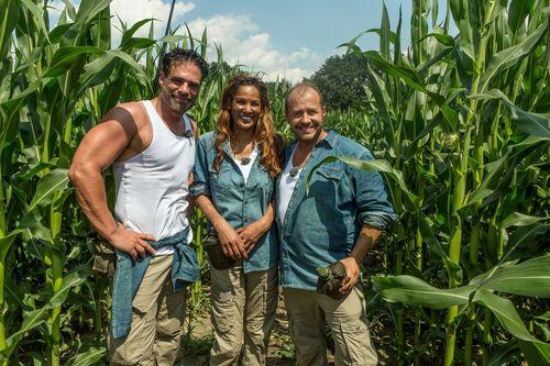 Carsten Spengemann, Nadja Abd el Farrag und Willi Herren kämpfen heute um den Wiedereinzug ins Dschungelcamp
