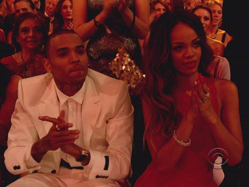 Chris Brown und Rihanna waren gemeinsam bei den Grammys