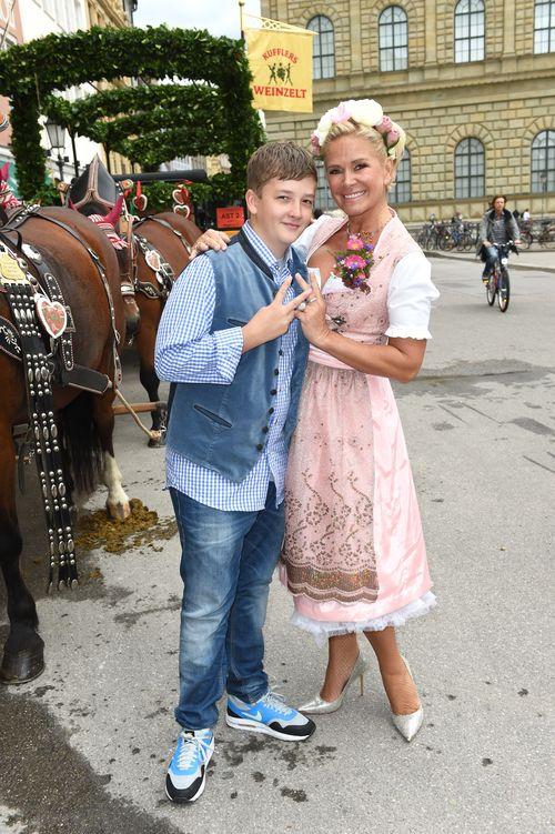 Claudia Effenberg gibt ein Update zum Gesundheitszustand ihres Sohnes