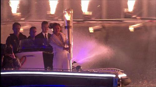 David Beckhams Rolle bei der Eröffnungsfeier der Olympischen Spiele 2012 blieb bis zum Schluss geheim