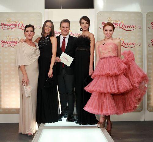 Die vier Damen bei Promi Shopping Queen verwandelten sich gestern in Prinzessinnen