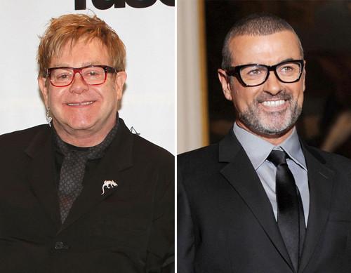 Elton John und George Michael haben das Kriegsbeil begraben