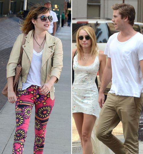 Emma Roberts will sich angeblich Liam Hemsworth krallen. Das passt Miley Cyrus nicht in den Kram