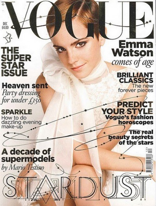 emma watson vogue cover fall. emma watson vogue cover fall