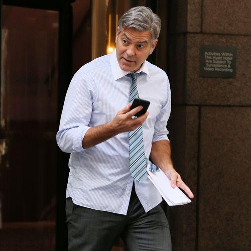 George Clooney ist ein echter Witzbold