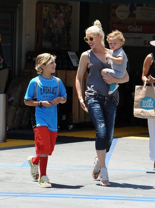 Gwen Stefani war gerade mit zweien ihrer drei Söhne unterwegs