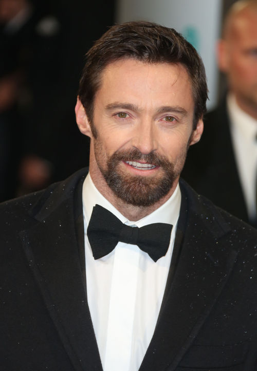 Hugh Jackman ist mit Bart eine echte Augenweide