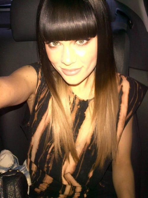 Dieses Bild twitterte Jessie J, um ihre neue Frisur zu zeigen